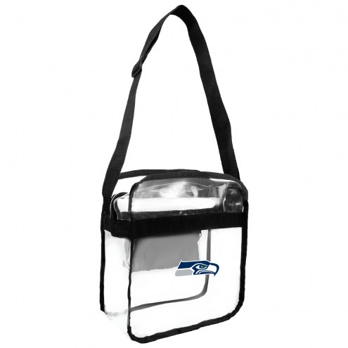 Seattle Seahawks Clear Crossbody Carry-All Bag