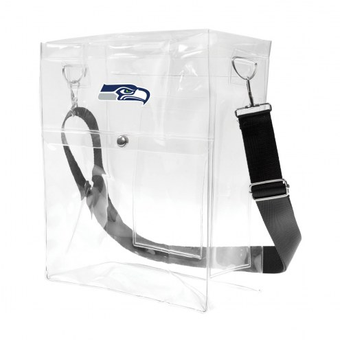 Seattle Seahawks Clear Ticket Satchel