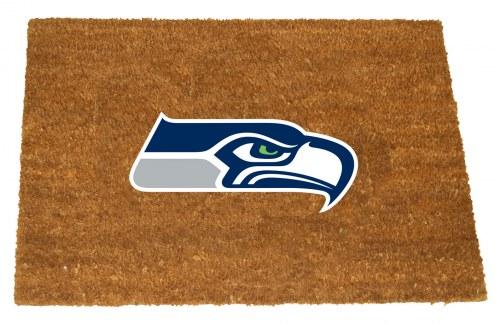 Seattle Seahawks Colored Logo Door Mat