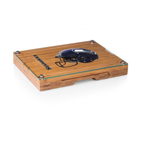 Seattle Seahawks Concerto Bamboo Cutting Board
