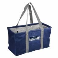 Seattle Seahawks Crosshatch Picnic Caddy