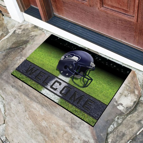 Seattle Seahawks Crumb Rubber Door Mat