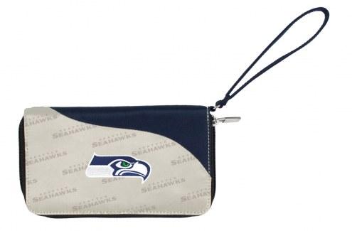 Seattle Seahawks Curve Zip Wallet