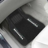 Seattle Seahawks Deluxe Car Floor Mat Set