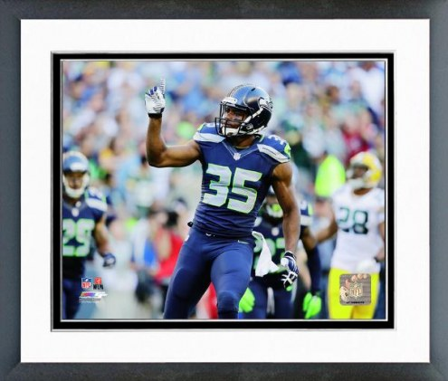 Seattle Seahawks DeShawn Shead Action Framed Photo