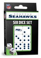 Seattle Seahawks Dice Set