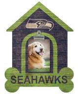 Seattle Seahawks Dog Bone House Clip Frame