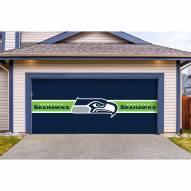 Seattle Seahawks Double Garage Door Cover