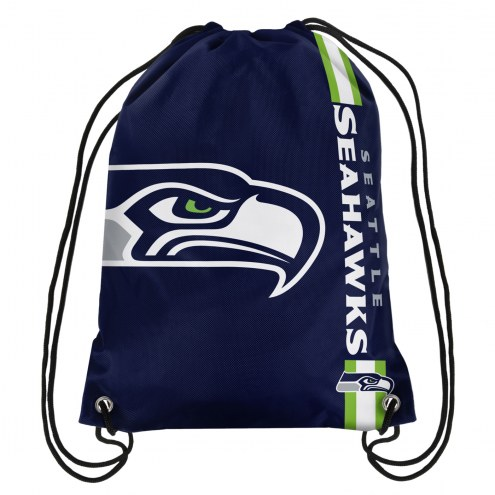 Seattle Seahawks Drawstring Backpack