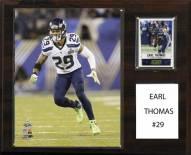 "Seattle Seahawks Earl Thomas 12"" x 15"" Player Plaque"
