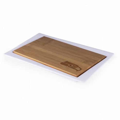 Seattle Seahawks Enigma Cutting Board & Serving Tray