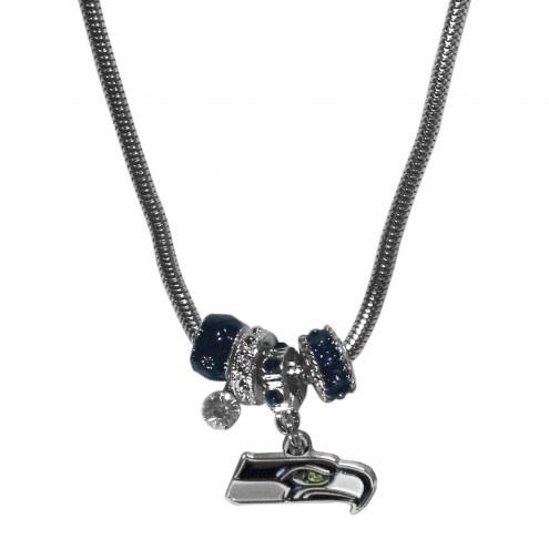 Seattle Seahawks Euro Bead Necklace