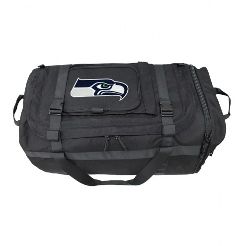 NFL Seattle Seahawks Expandable Military Duffel