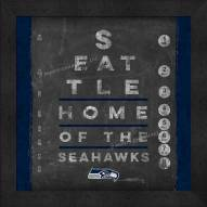 Seattle Seahawks Eye Chart