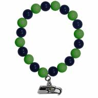 Seattle Seahawks Fan Bead Bracelet