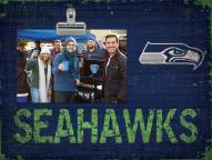 Seattle Seahawks Wood Clip Frame