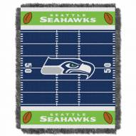 Seattle Seahawks Field Baby Blanket