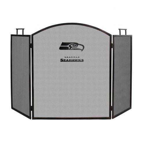 Seattle Seahawks Fireplace Screen