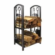 Seattle Seahawks Fireplace Wood Holder & Tool Set