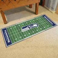 Seattle Seahawks Football Field Runner Rug