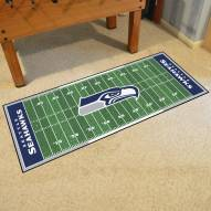 Seattle Seahawks Football Field Runner Rug