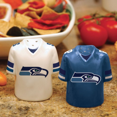 Seattle Seahawks Gameday Salt and Pepper Shakers