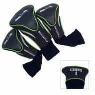 Seattle Seahawks Golf Headcovers - 3 Pack