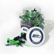 Seattle Seahawks 175 Golf Tee Jar