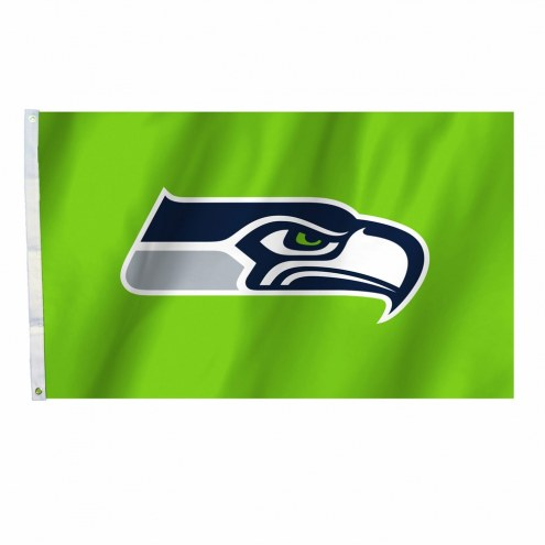 Seattle Seahawks Green 3' x 5' Flag