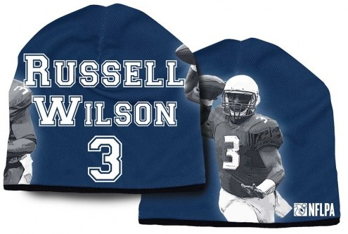 Seattle Seahawks Heavyweight Russell Wilson Beanie