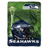 Seattle Seahawks Heritage Silk Touch Blanket