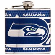 Seattle Seahawks Hi-Def Stainless Steel Flask