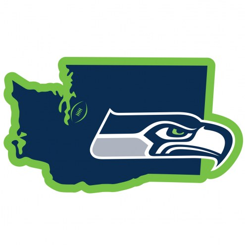 "Seattle Seahawks Home State 11"""" Magnet"
