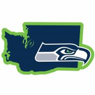"""Seattle Seahawks Home State 11"""""""" Magnet"""