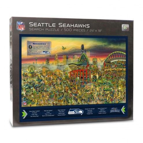 Seattle Seahawks Joe Journeyman Puzzle