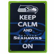 Seattle Seahawks Keep Calm Sign
