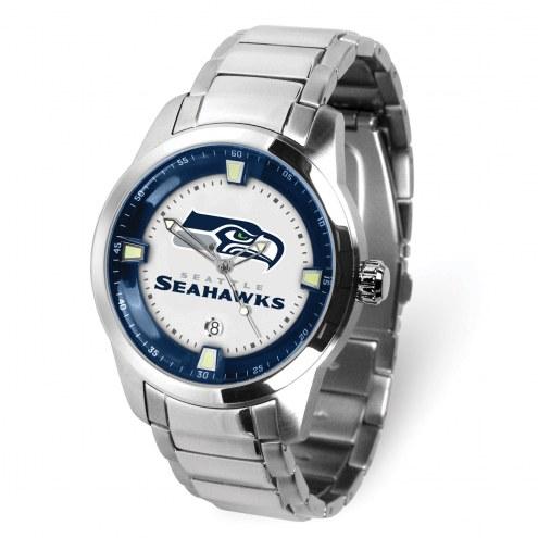 Seattle Seahawks Titan Steel Men's Watch