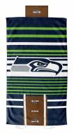 Seattle Seahawks Lateral Comfort Towel with Foam Pillow