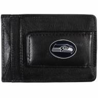 Seattle Seahawks Leather Cash & Cardholder