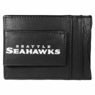 Seattle Seahawks Logo Leather Cash and Cardholder