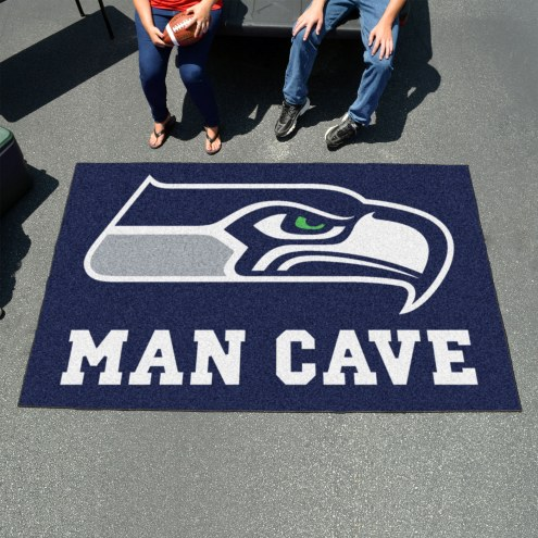 Seattle Seahawks Man Cave Ulti-Mat Rug