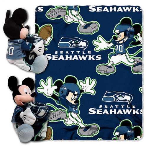 Seattle Seahawks Mickey Mouse Hugger