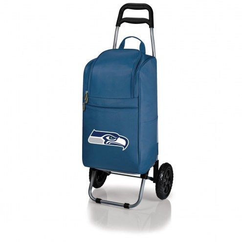 Seattle Seahawks Navy Cart Cooler