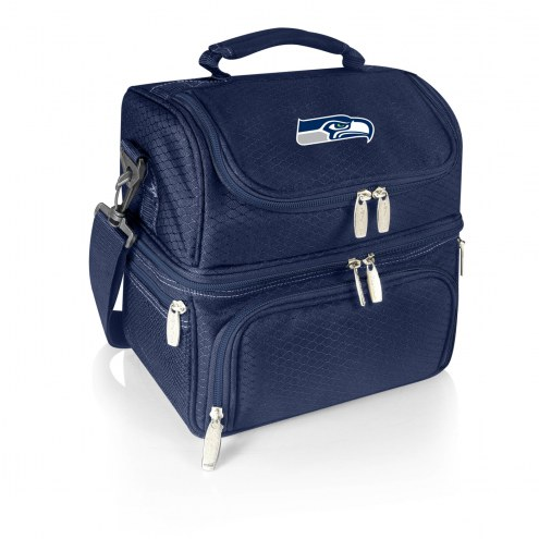 Seattle Seahawks Navy Pranzo Insulated Lunch Box