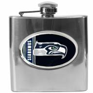 Seattle Seahawks NFL 6 Oz. Stainless Steel Hip Flask