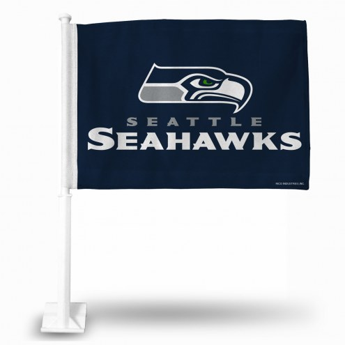 Seattle Seahawks NFL Car Flag