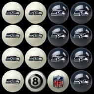 Seattle Seahawks NFL Home vs. Away Pool Ball Set
