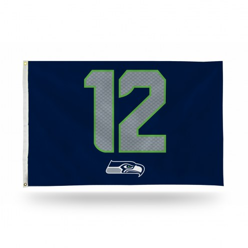 Seattle Seahawks Rico 3' x 5' Banner Flag