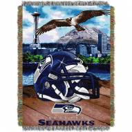 Seattle Seahawks NFL Woven Tapestry Throw