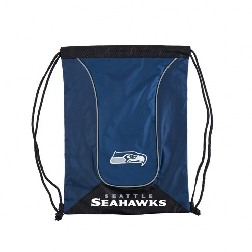 Seattle Seahawks Doubleheader Drawstring Bag